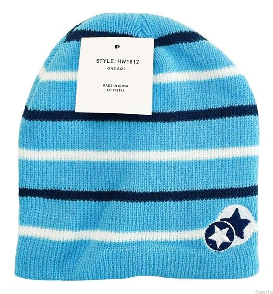 "Picture of Infants Winter Hat ""Sky Stars"""