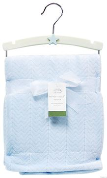 Picture of Jacquard Valour Blanket Blue