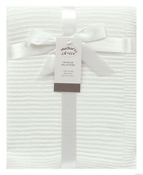 Picture of Baby Shawl White