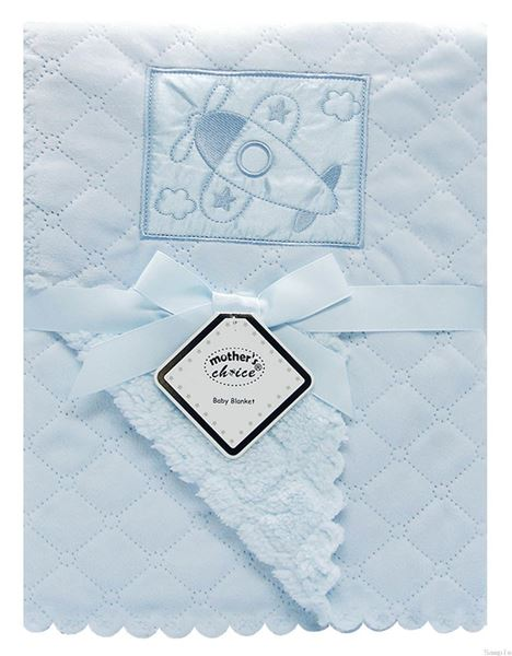 Picture of Nana Baby Blanket Blue