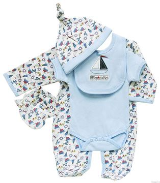 Picture of Boy's 5Pc Starter Set 'Little Sailor'