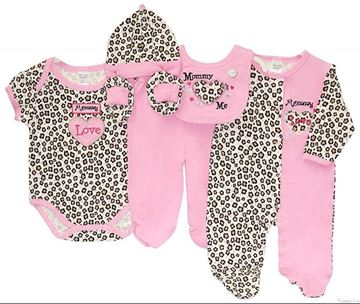 "Picture of Infants 6Pc Starter Pack ""Mummy Loves Me"""