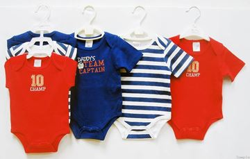 Picture of Boy's 3Pc Rompers Set