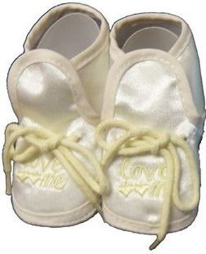 "Picture of ""Love Me"" Booties - Lemon Yellow"