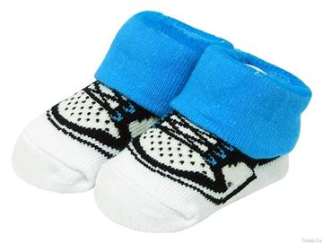 "Picture of Boy's Box ""Shoe"" Socks"
