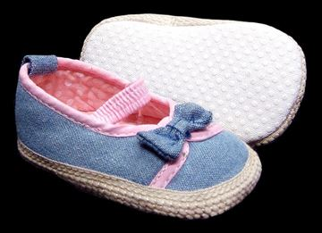 Picture of Infant Girl's Denim Shoe