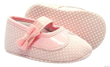 Picture of Girl's Pink Polka Dot Shoe
