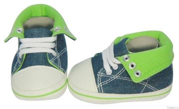 Picture of Infant Denim Boot - Green