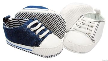 Picture of Boy's Lace Up - Denim Blue