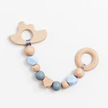 Picture of Wooden Teether - Blue