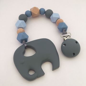 Picture of Elephant Teether - Blue