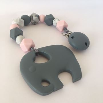 Picture of Elephant teether - Pink