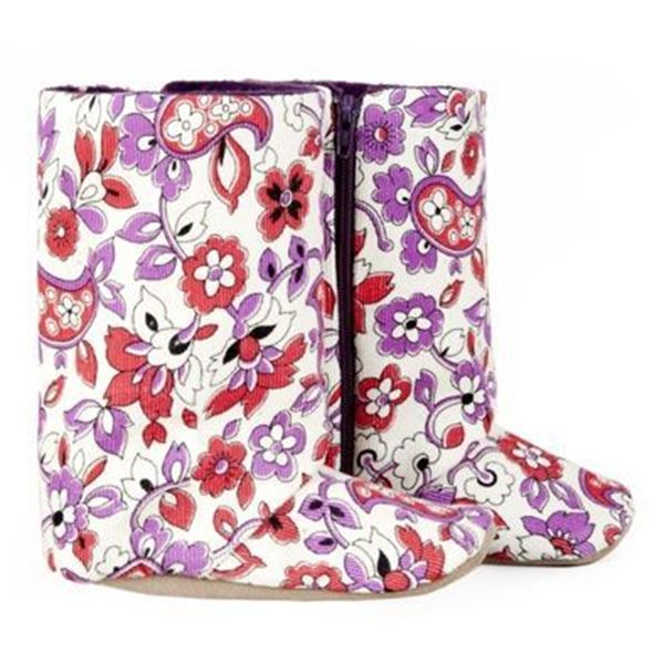 Picture of Boots - Floral Cord