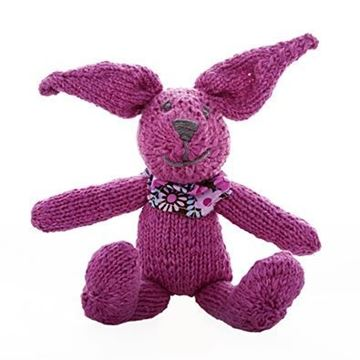 Picture of Knitted Bunny - Fuschia
