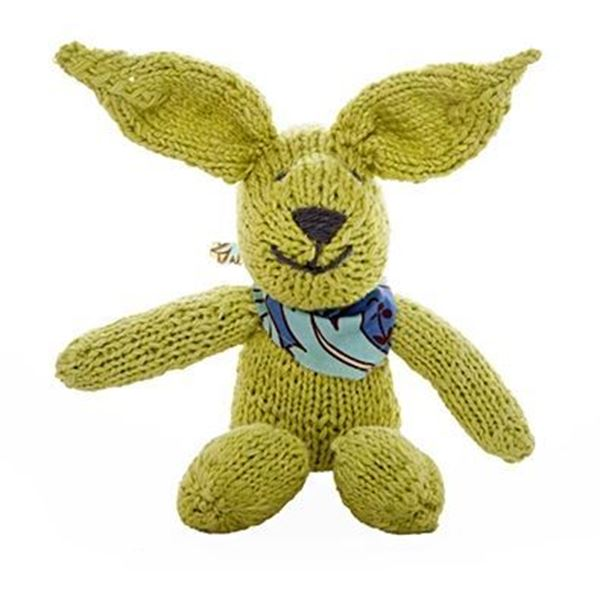 Picture of Knitted Bunny - Lime
