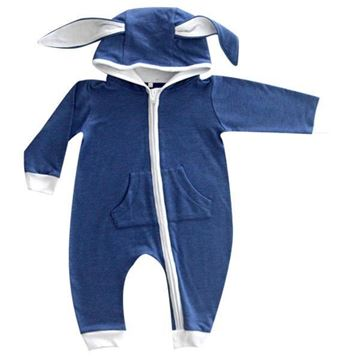 Picture of Bunny Onesie - Blue