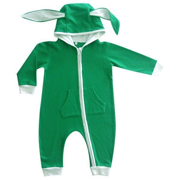 Picture of Bunny Onesie - Green