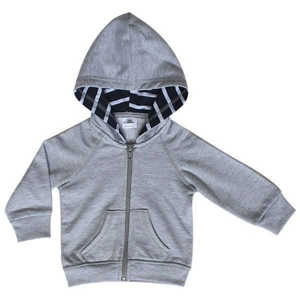 Picture of Hoodie - Navy & White