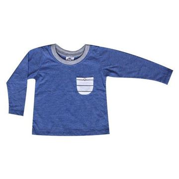 Picture of Long sleeve T-Shirt - Blue
