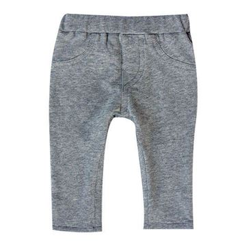 Picture of Skinny Tracksuit Pants - Grey Melange
