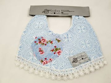 Picture of Vintage Bib - Blue Lace