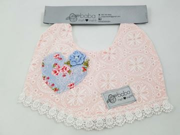 Picture of Vintage Bib - Pink Lace