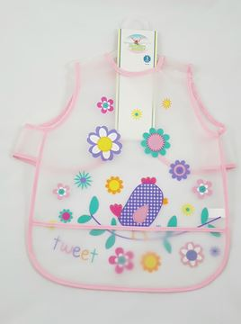 Picture of Eva Bibs Slim Baby Pink
