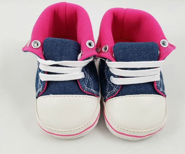 Picture of Infant Denim Boot - Pink