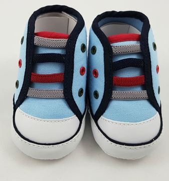 Picture of Boy's Fancy Boot - Sky Blue