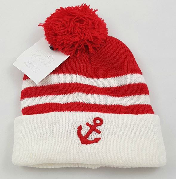"Picture of Infants Winter Hat ""Sailor"" Red"